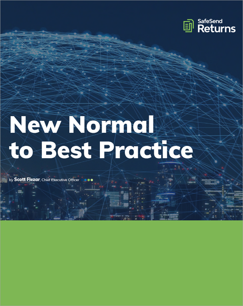 Seizing the Opportunity to Make the New Normal a Best Practice
